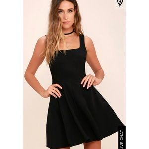 NWT Lulus Black Dress